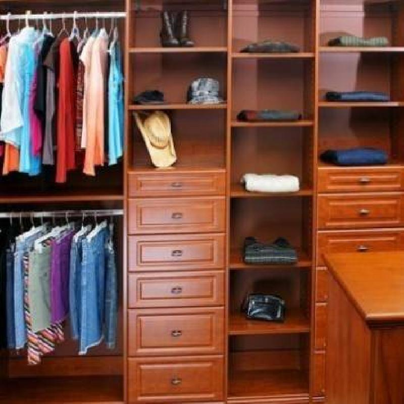 Closets To Go His Amp Her Walk In Closet Organizer Walk In