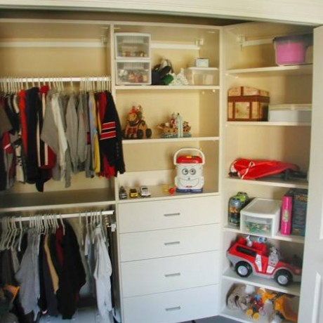 Closets To Go Toddler Reach In Closet