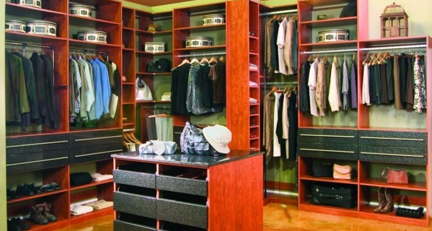 Have Tall Ceilings? Check Out Our Dream Master Closet For Two!